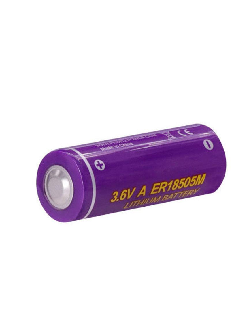 PKCELL ER18505M A Size Hi Power Type Lithium Li-SOCI2 Battery image 0