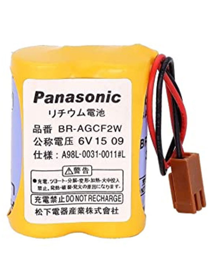PANASONIC BR-AG BR-AGCF2W A98L-0031-0011 6V Battery image 0