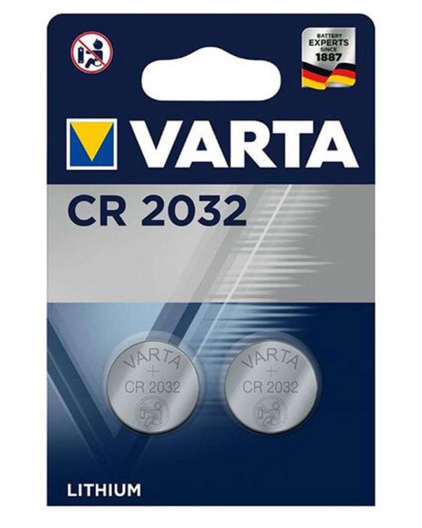 VARTA CR2032 Lithium Battery 2 Pack image 0