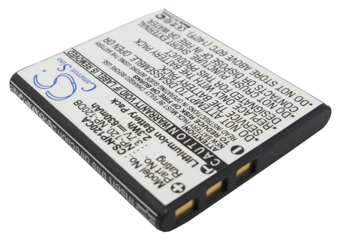 CASIO NP-120, NP-120DBA Compatible Battery image 0