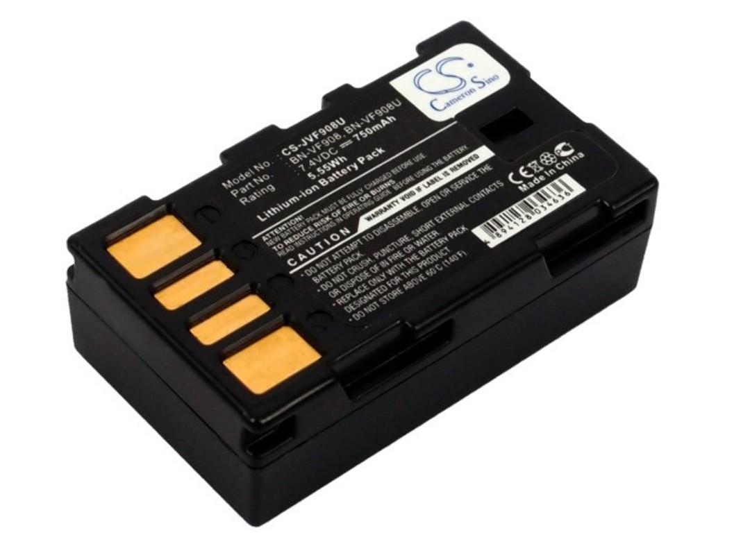 JVC BN-VF908, BN-VF908U, BN-VF908US GZ-X900 Compatible Battery image 0