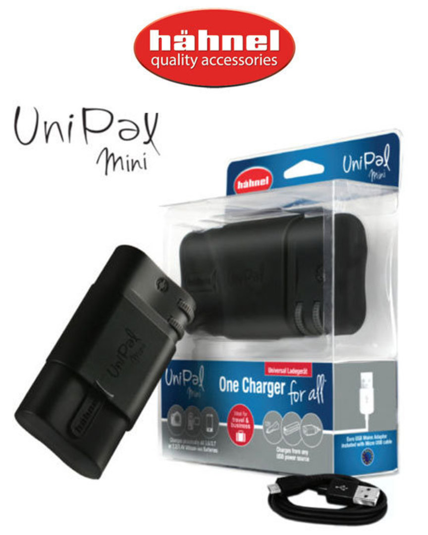Hähnel UNIPAL Mini Universal Battery Charger image 0