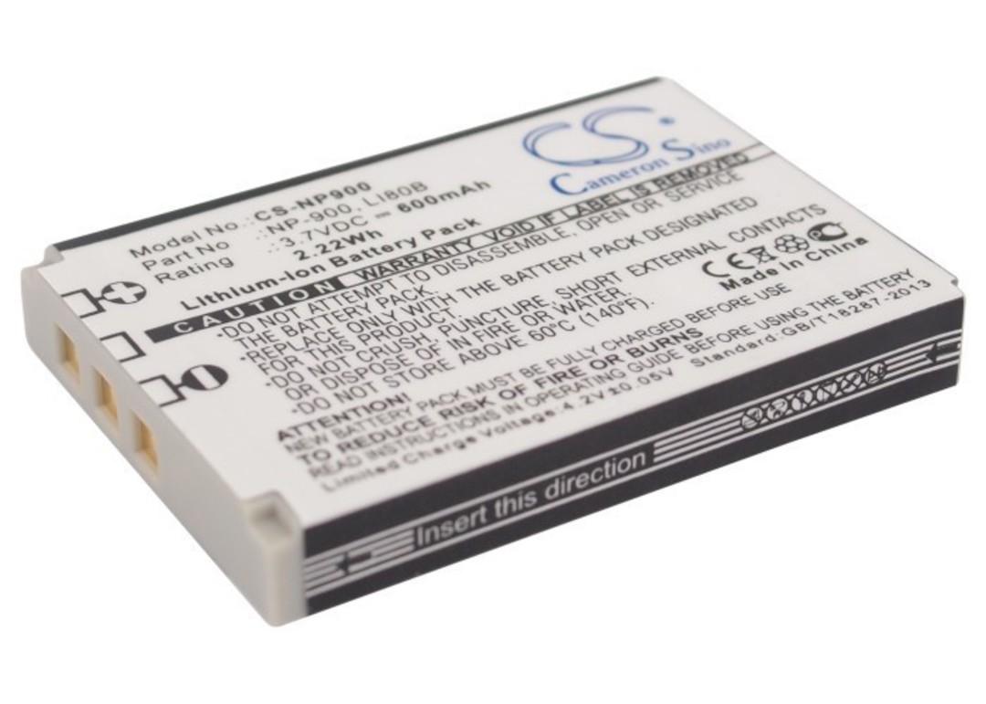 OLYMPUS Li-80B, Polaroid BLi-296 Compatible Battery image 0