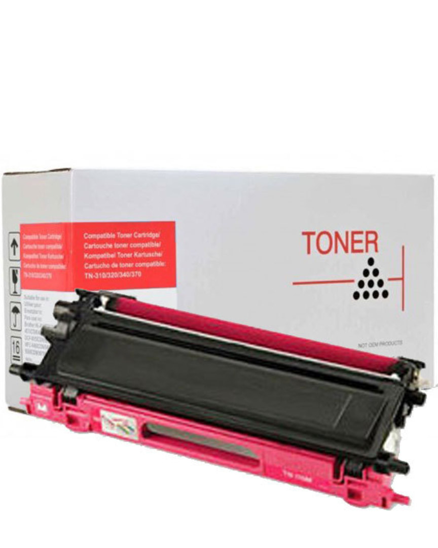 Compatible Brother TN340 Magenta Toner Cartridge image 0