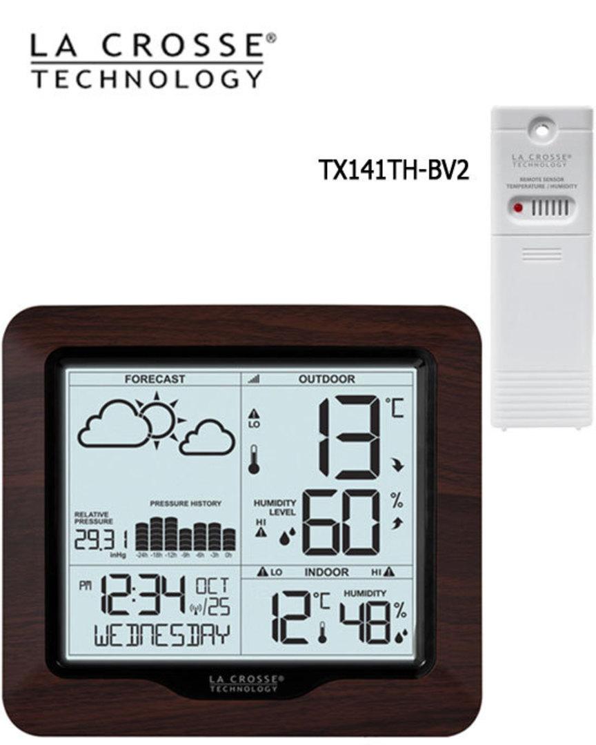 308-1417BL La Crosse Forecast Weather Station with Backlight image 0