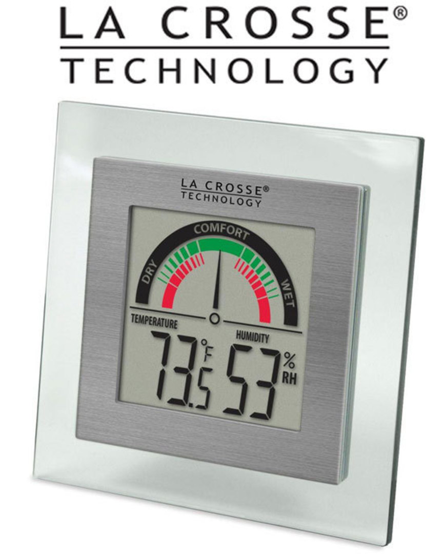 WT-137U La Crosse Comfort Meter with Temp and Humidity image 0