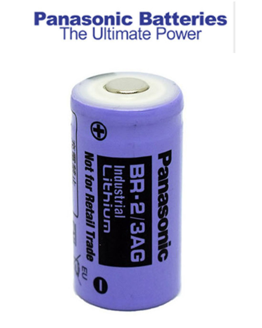 PANASONIC BR-2/3AG 2/3A Industrial Lithium Battery image 0