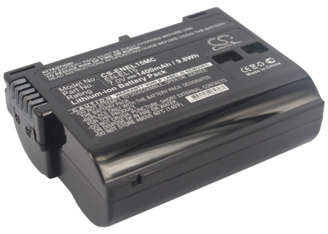 NIKON EN-EL15 Coolpix D7000 Compatible Battery image 0