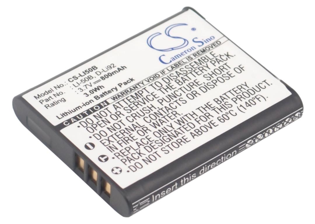 OLYMPUS Li50B PENTAX DLI92 CASIO NP150 Battery image 0