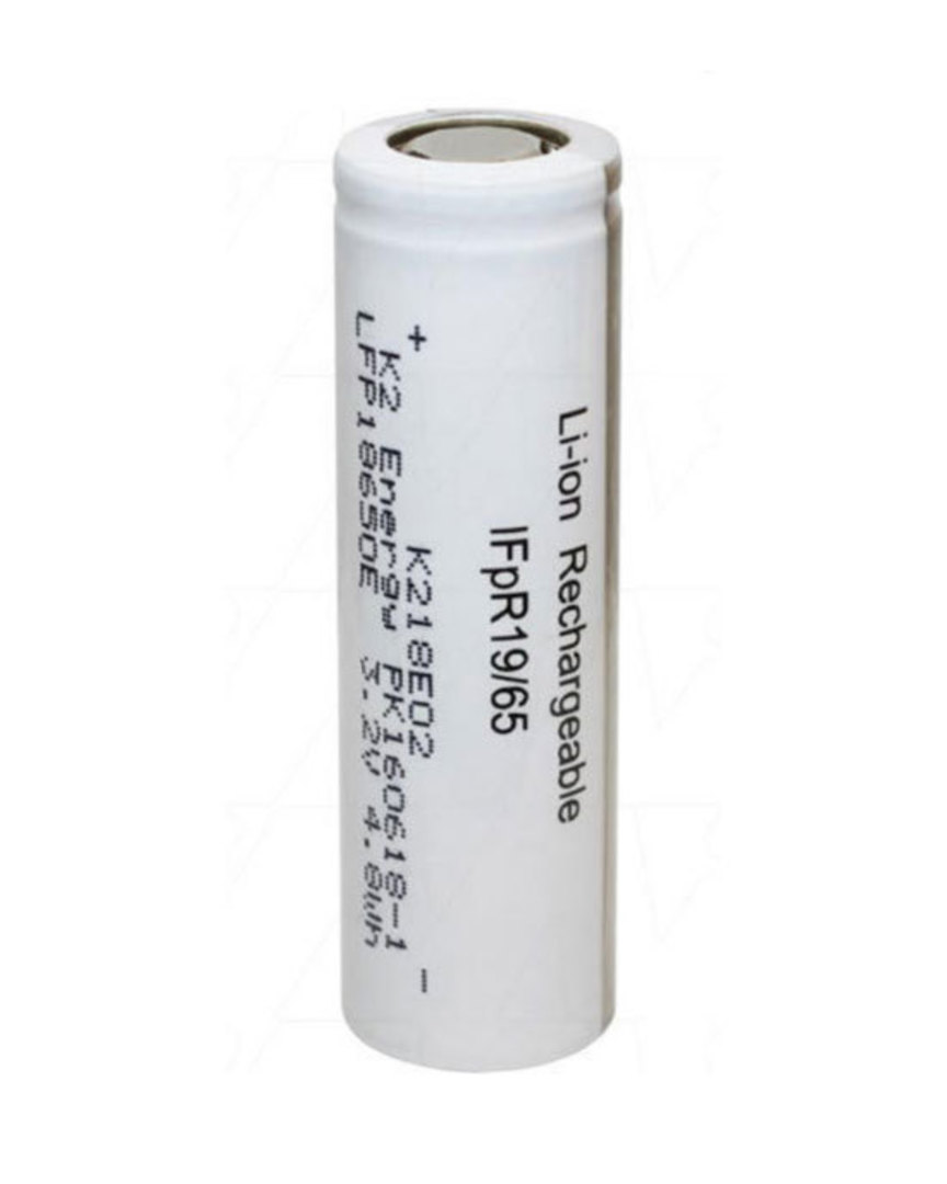 K2 ENERGY 18650 High Capacity LiFePO4 Rechargeable Battery image 0