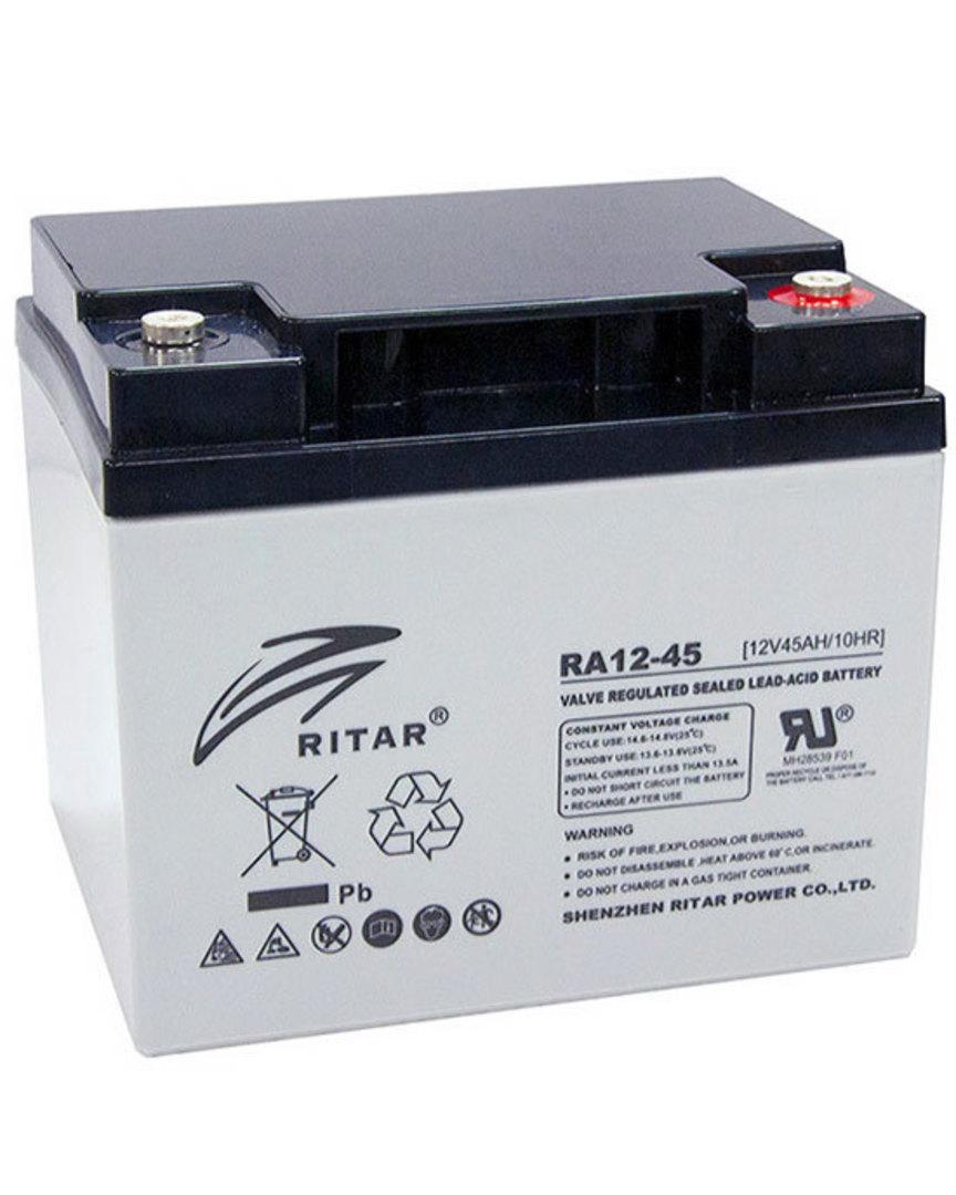 RITAR RA12-45 12V 45AH SLA battery image 0