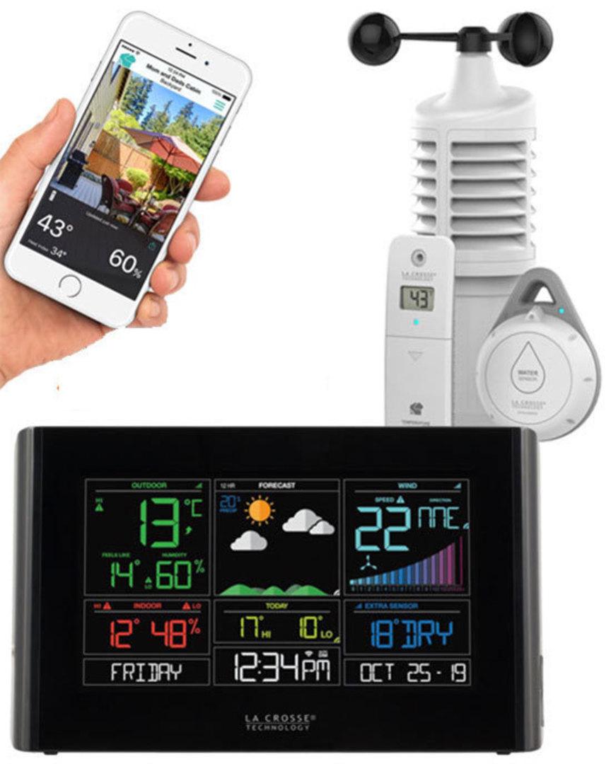 S82950 La Crosse WIFI Weather Station with Leak Detector image 0