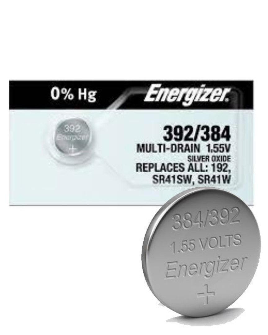 ENERGIZER 392 384 SR41SW SR41W Battery image 0