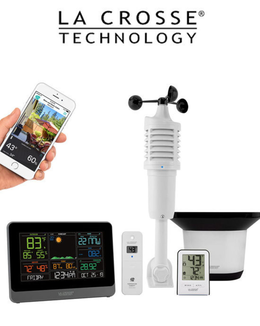 C83100 Complete WIFI Colour Weather Station with AccuWeather Forecast image 0