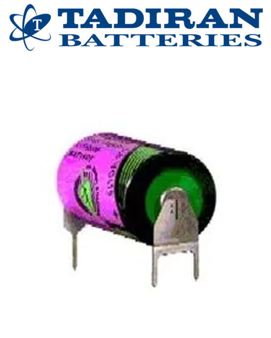 Tadiran TL-5902 (PT) 1/2AA 3.6V Lithium with 3-Pin (D+7mm S-) image 1