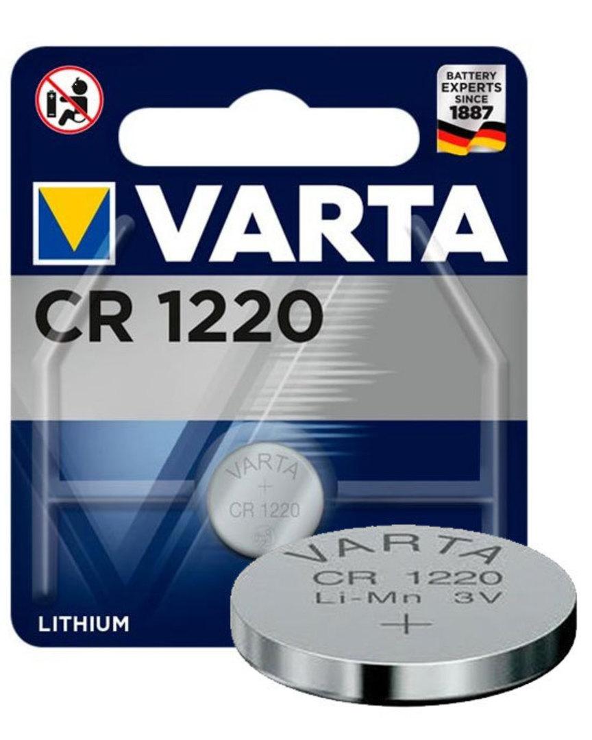 VARTA CR1220 Lithium Battery image 0
