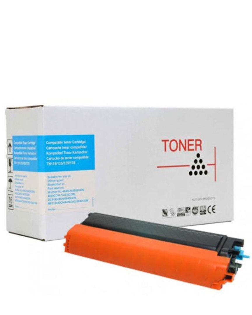 Compatible Brother TN155 Cyan Toner Cartridge image 0