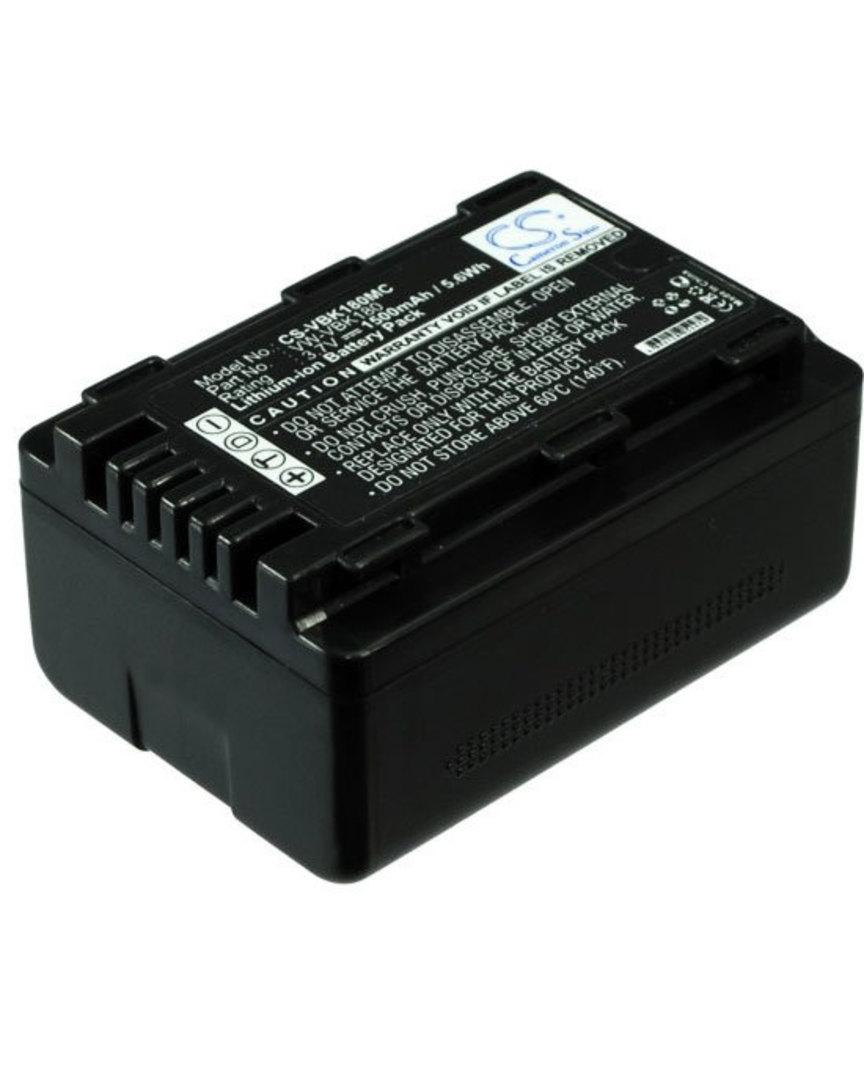 PANASONIC VW-VBK180 VW-VBK180K Compatible Battery image 0