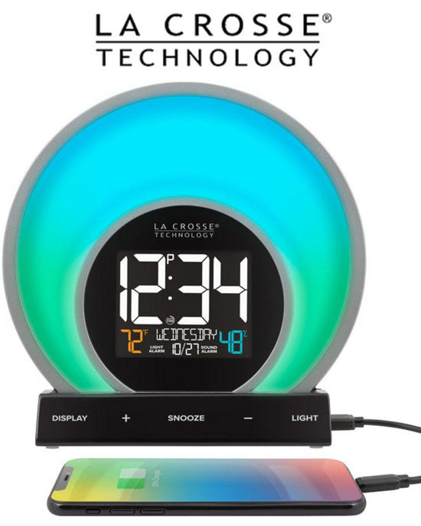 C80994 La Crosse Soluna Light Alarm Clock image 2
