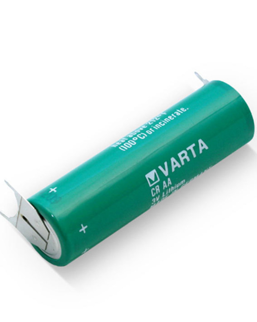 VARTA CR AA Lithium Battery with 3-Pin D+10mm image 1