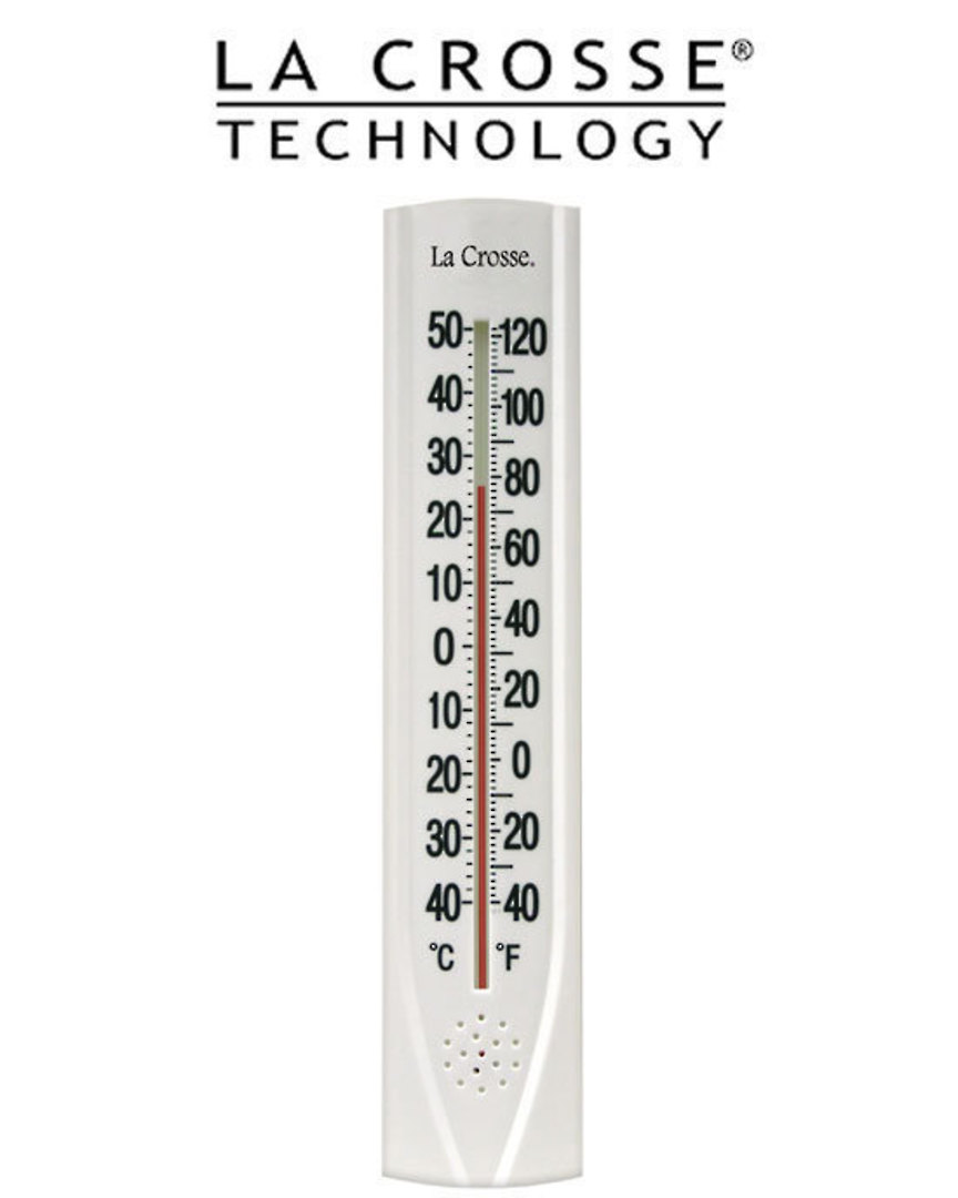 204-115 La Crosse 38cm Thermometer with Key Hider image 0