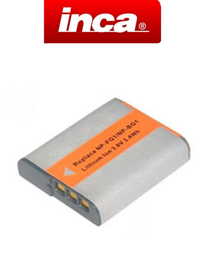 INCA SONY NP-BG1 NP-FG1 Type G Compatible Battery image 0