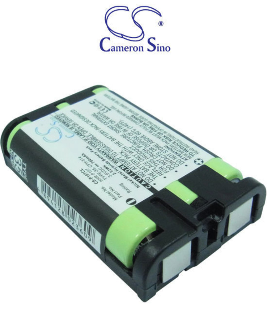 PANASONIC HHR-P107 TYPE 35 Cordless Phone Battery image 0