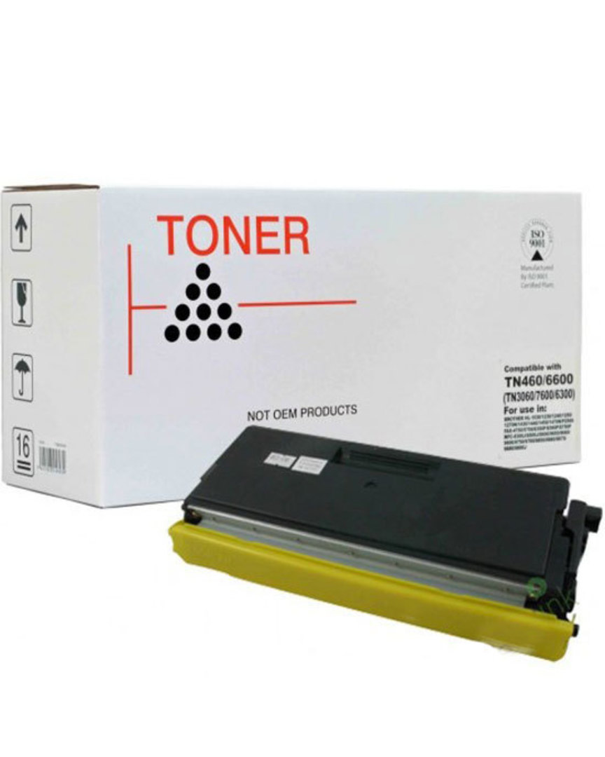 Compatible Brother TN3060/6600/7600 (TN460) Black Toner Cartridge image 0
