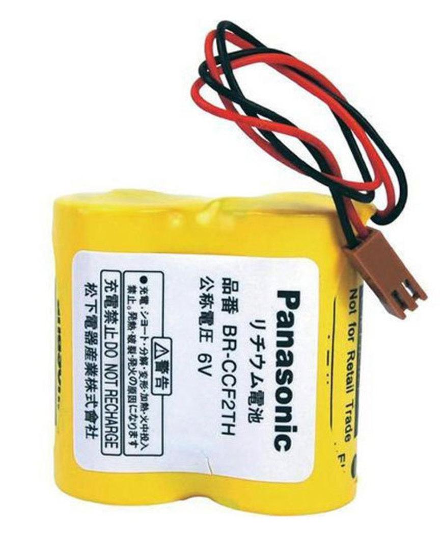 PANASONIC BR-C BR-CCF2TH A98L-0001-0902 6V Battery image 0