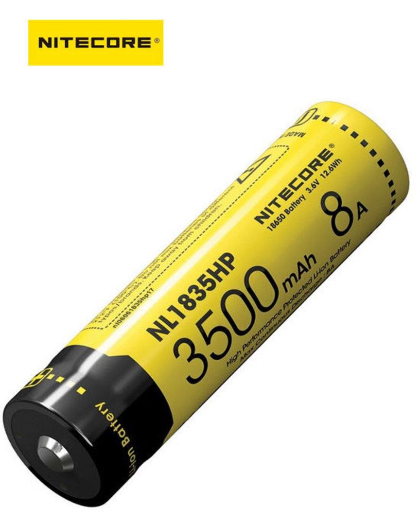 NITECORE NL1835HP 8A 18650 3500mAh Lithium Battery image 0