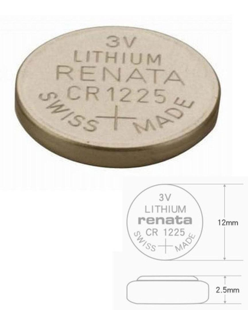 RENATA CR1225 Lithium Battery image 0