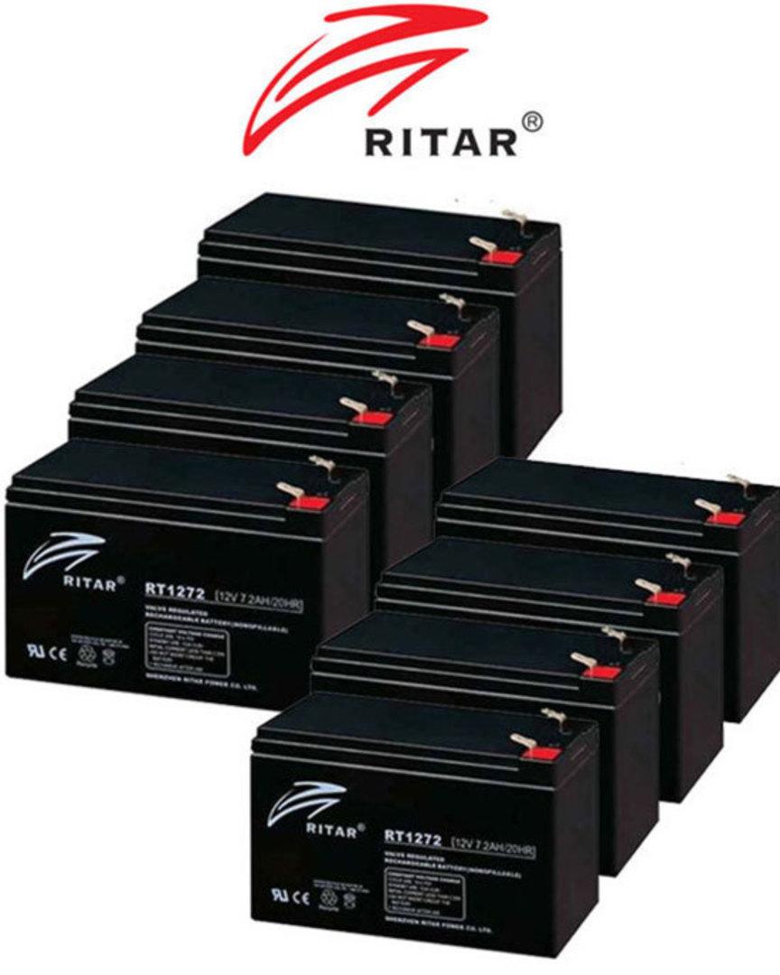 APC RBC12 RBC26 RBC27 RBC36 RBC37 RBC105 Replacement Battery Kit image 0