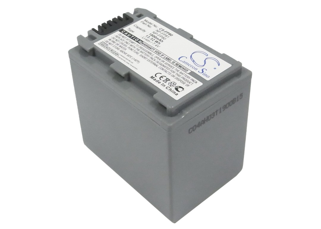 SONY NP-FP80, NP-FP81 Compatible Battery image 0
