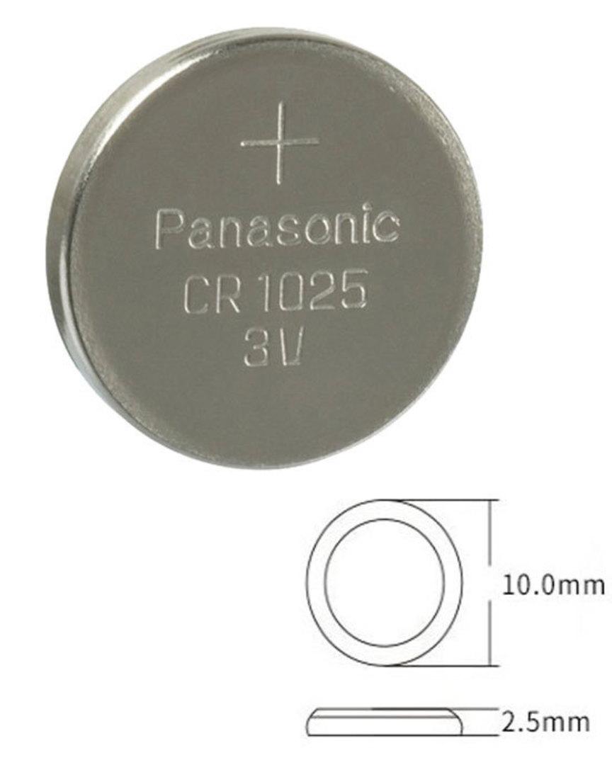 PANASONIC CR1025 Lithium Battery image 0
