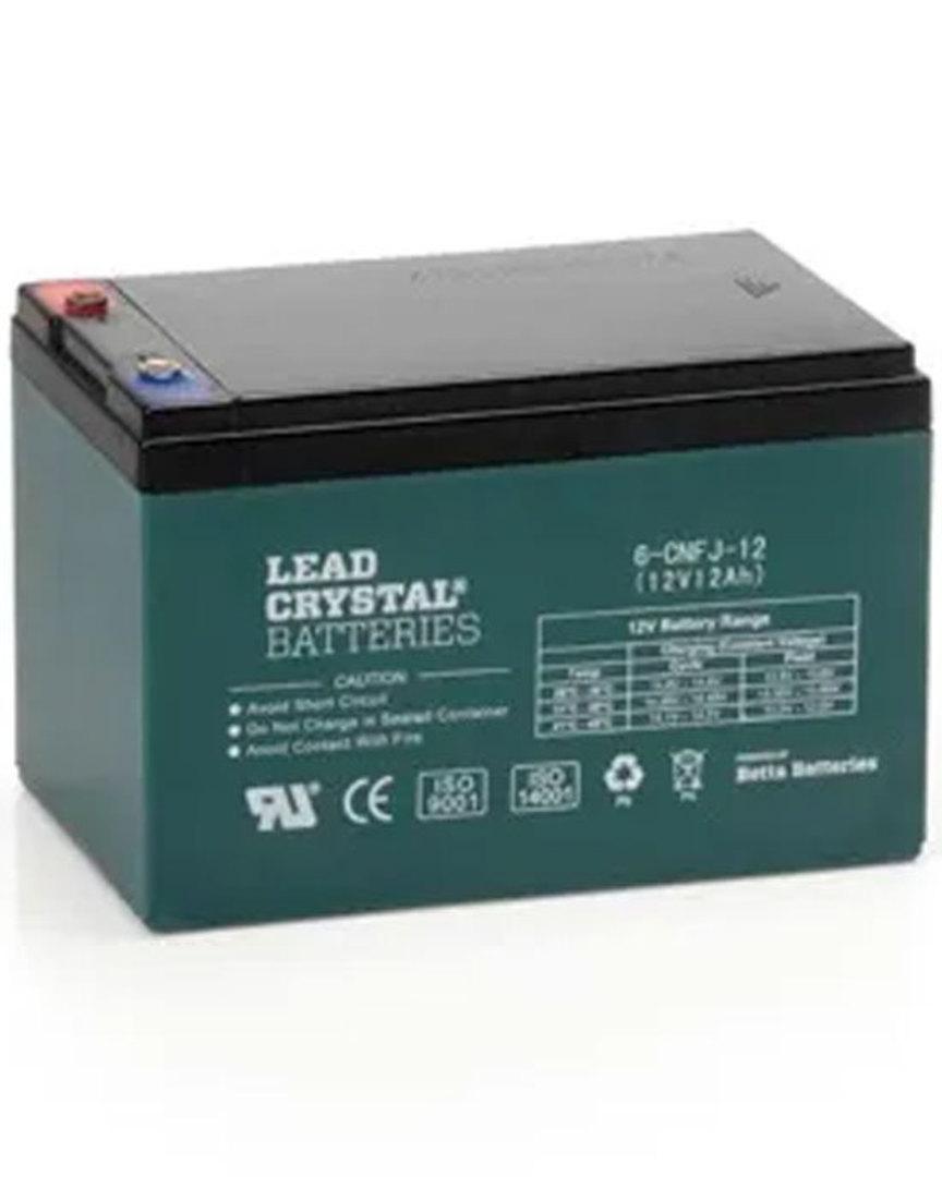 Lead Crystal 6-CNFJ-12 SLA 12V 12AH Battery image 0
