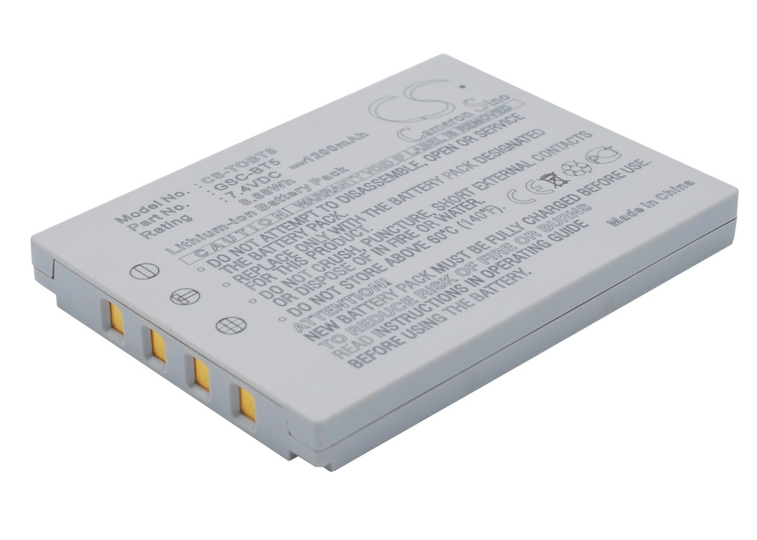 TOSHIBA BSC-BT5, GSC-BT5 Compatible Battery image 0