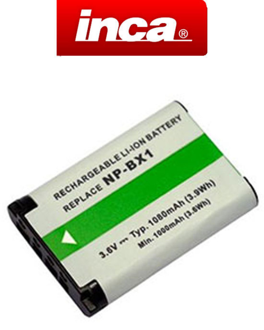 INCA SONY NPBX1 BX1 Compatible Battery image 0