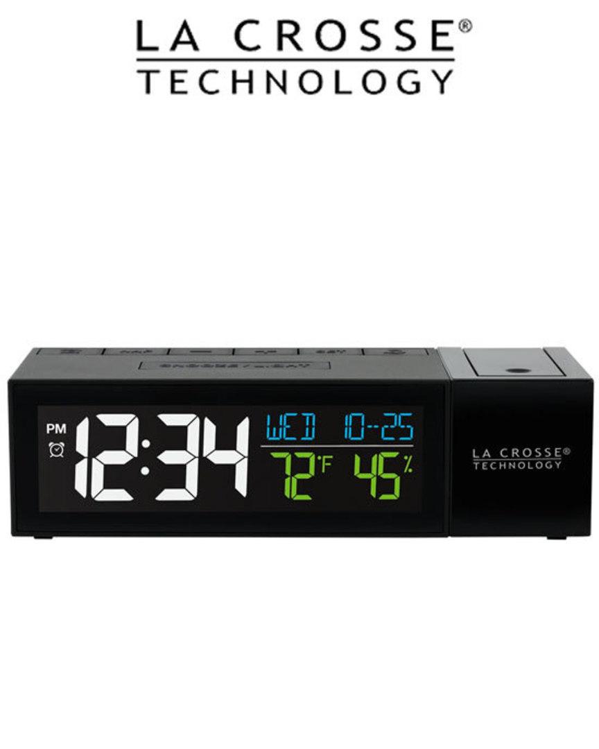 616-1950 Pop-Up Bar Projection Alarm Clock image 2