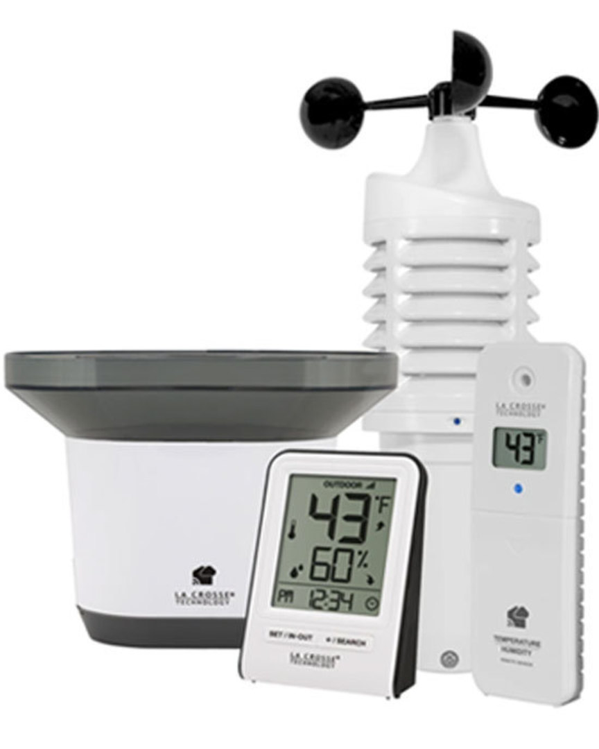 V30V2 La Crosse Personal WIFI Weather Station with AccuWeather image 1