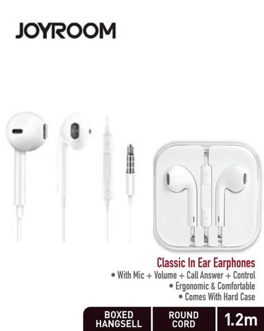 JOYROOM Classic In Ear Earphone Earpod with Mic image 0