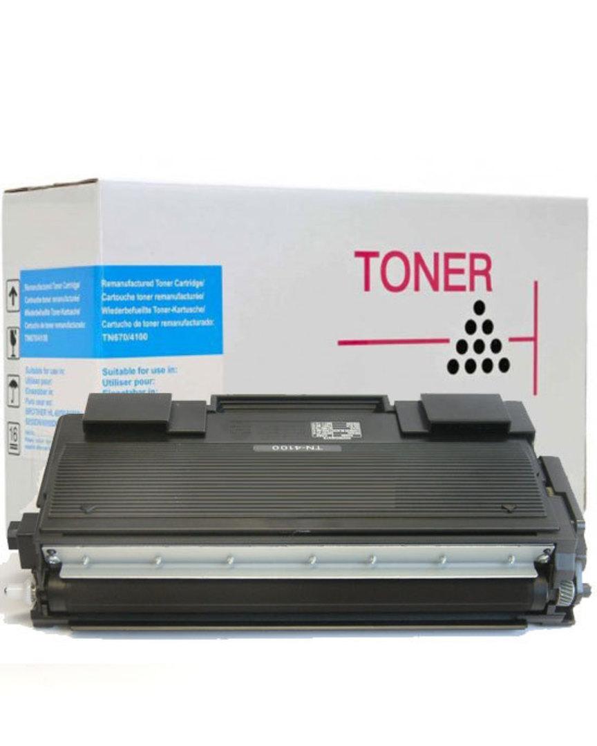 Compatible  Brother TN4100 Black Toner Cartridge image 0