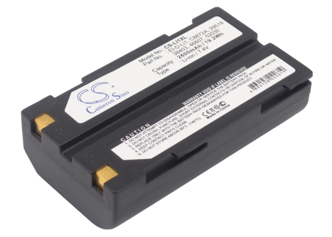 PENTAX D-LI1 46607 52030 Compatible Battery image 0