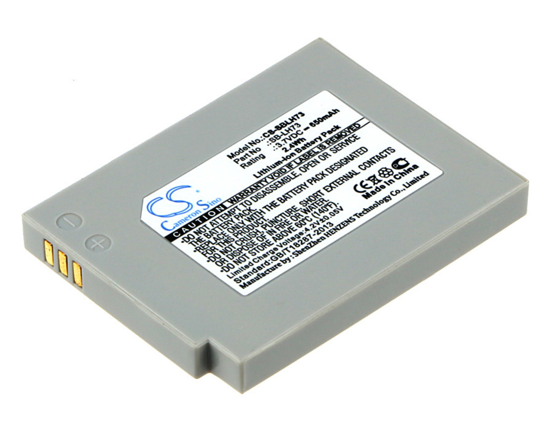SAMSUNG SB-LH73 SDC-MS61S Compatible Battery image 0