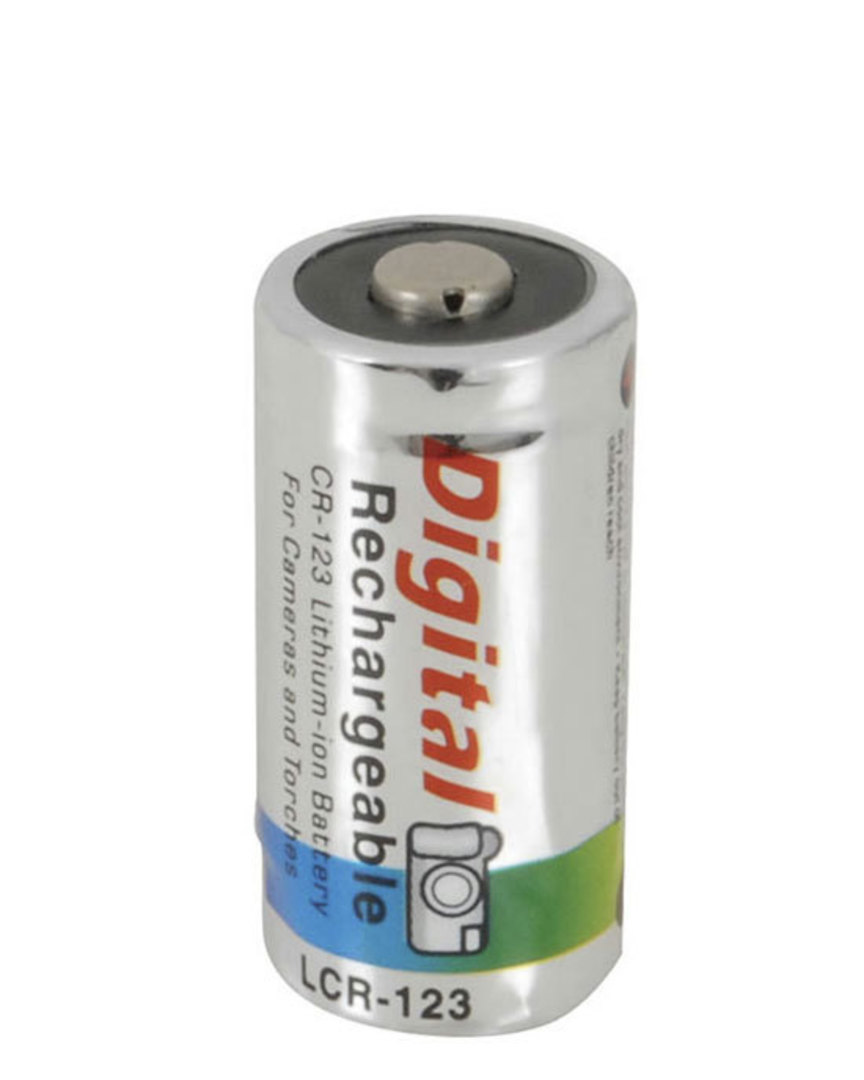 RCR123A Rechargeable 3V Li-Ion CR123A Battery image 0