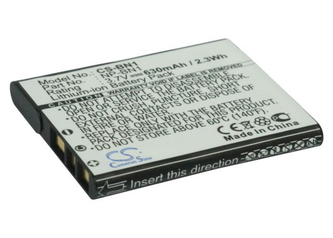 SONY NP-BN1 NP-BN Compatible Battery image 0