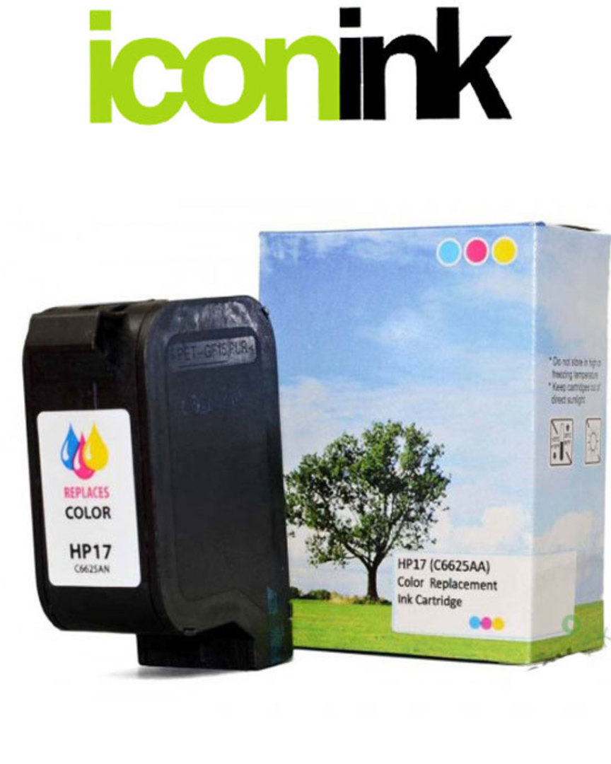 Compatible HP 17 Colour Ink Cartridge (C6625AA) image 0
