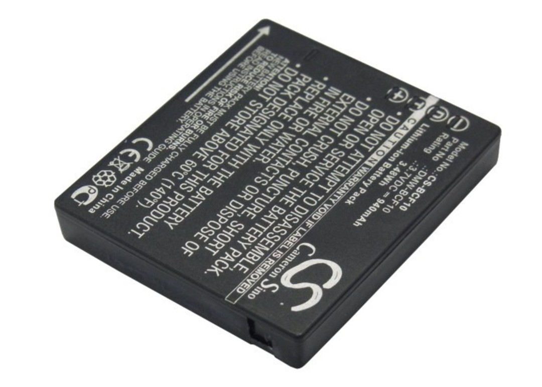 PANASONIC DMW-BCF10 S106 S009 Compatible Battery image 0