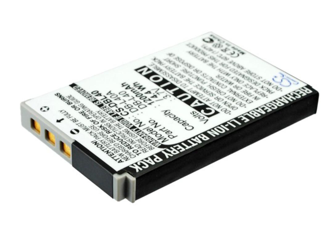 SANYO DB-L40, DB-L40A, DB-L40AU Compatible Battery image 0