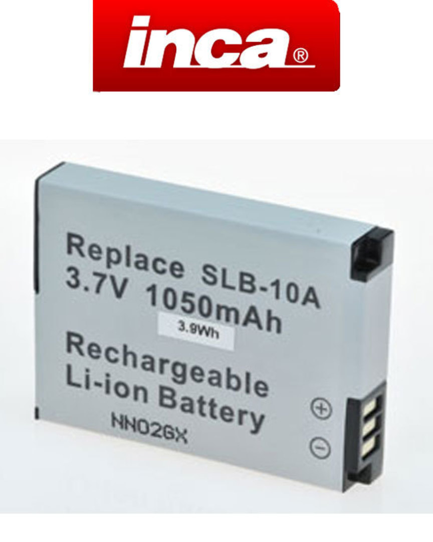 INCA SAMSUNG SLB10A Compatible Battery image 0