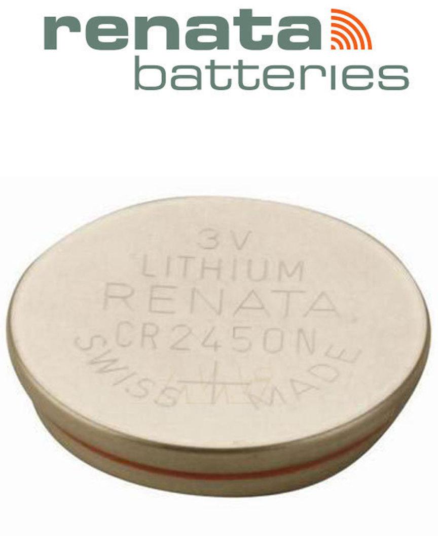 RENATA CR2450N Lithium Battery image 0